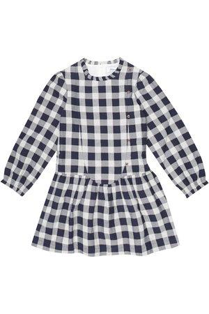 Tartine Et Chocolat Piger Kjoler - Checked cotton-blend dress