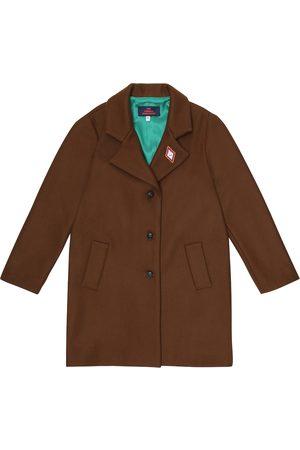 The Animals Observatory Piger Vinterfrakker - Jaguar wool-blend coat
