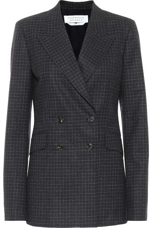 GABRIELA HEARST Angela checked stretch-wool blazer