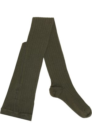 Caramel Piger Strømper - Child Rib cotton-blend socks