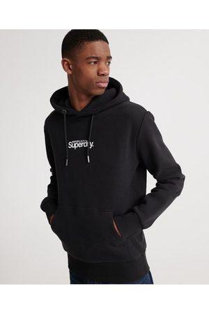 Superdry Essential Core Logo hættetrøje med børstet for