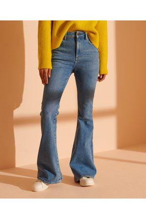 Superdry Skinny Flare jeans med høj talje