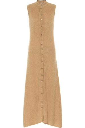 Paco rabanne Mohair-blend midi dress