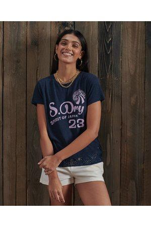 Superdry Kvinder Kortærmede - Montauk T-shirt med blonde og grafik