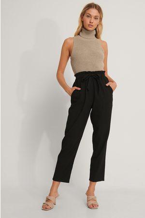 NA-KD Tie Belt Pants