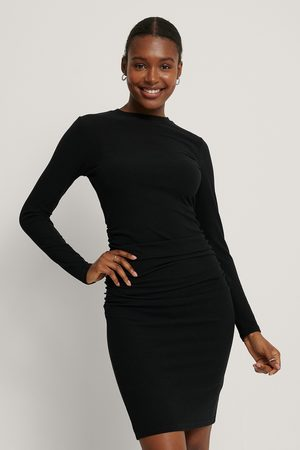 NA-KD Kvinder Festkjoler - Rouched Rib Dress