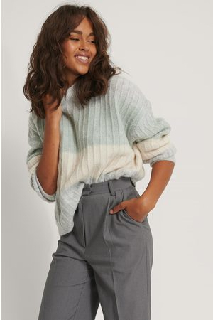 NA-KD Oversized Striped Knitted Sweater