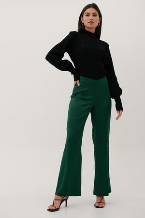 Paola Locatelli x NA-KD Recycled V-Shaped Waist Suit Pants
