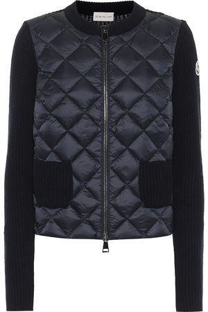 Moncler Wool and cashmere down cardigan