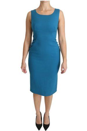 Dolce & Gabbana Bodycon Sheath Knee Length Dress