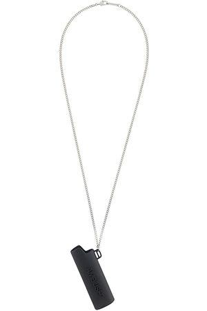 AMBUSH Halskæde med lighter etui-vedhæng og logo