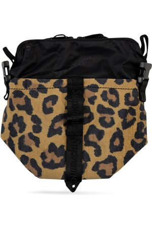 Supreme Leopard neck pouch