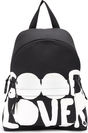 VALENTINO Lovers Language printed backpack