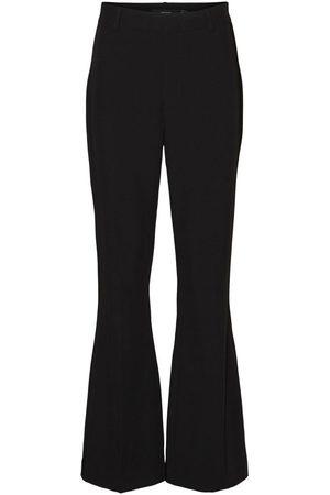 Vero Moda High Waist Svaj Bukser Kvinder Sort