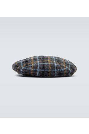 UNDERCOVER Mænd Hatte - Wool checked beret