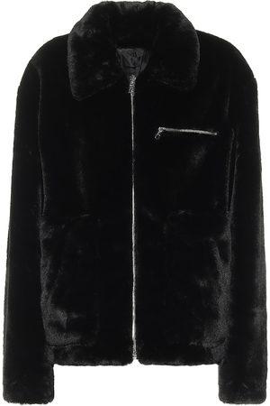 RTA Reese faux-fur jacket