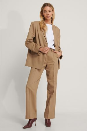 NA-KD Twill Suit Pants