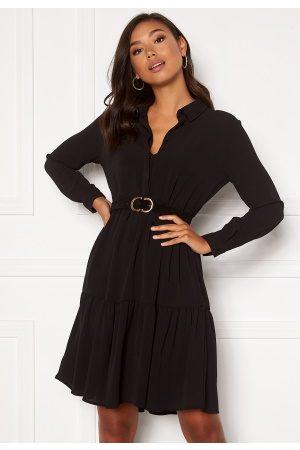 JACQUELINE DE YONG Kvinder Casual kjoler - Piper L/S Shirt Dress Black 34