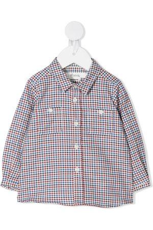 BONPOINT Mikro ginghamternet skjorte