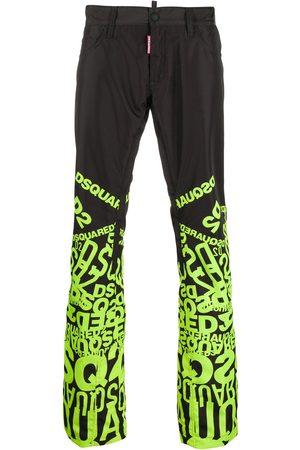 Dsquared2 Joggingbukser med logotryk og brede ben