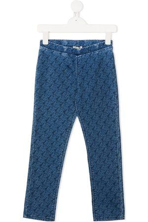 Kenzo Jeans med tigertryk