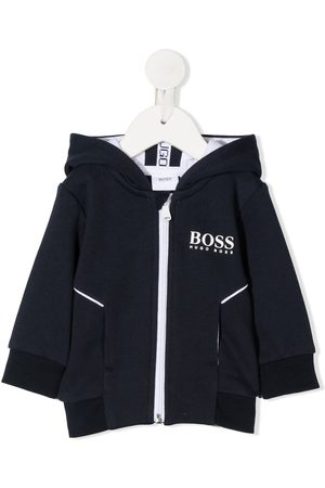 HUGO BOSS Cargo-hættetrøje med logotryk