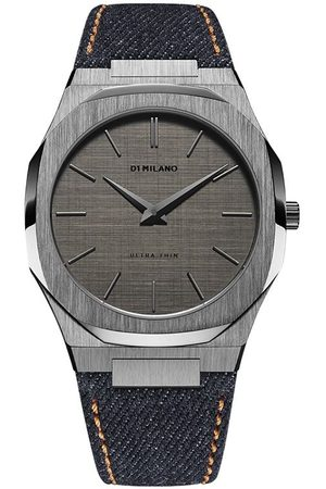 D1 MILANO Denim Ultra Thin 40mm armbåndsur