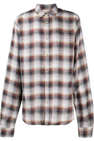 Dsquared2 Skotskternet skjorte med knapper