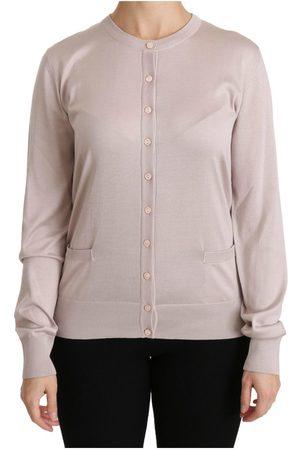 Dolce & Gabbana Long Sleeve Lace Top Sweater