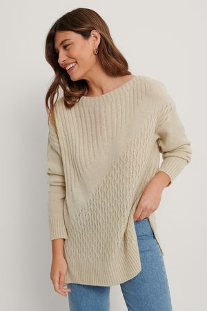 Trendyol Kvinder Strik - Long Detailed Knit Sweater