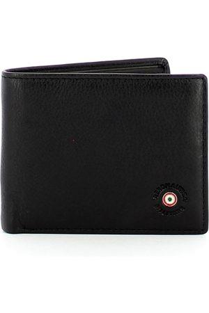Aeronautica Militare Leather wallet with RFID