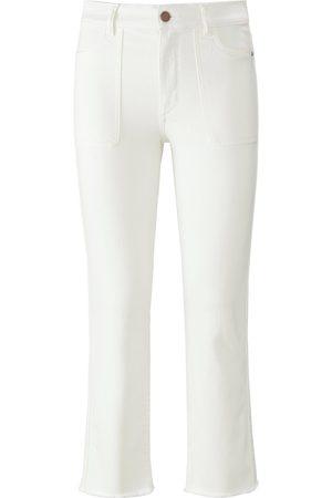 DL1961 Jeans i denimstretch Fra hvid