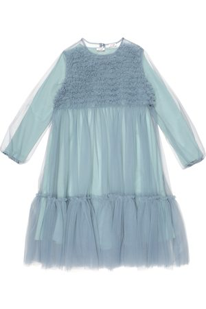 Il gufo Kvinder Casual kjoler - Tulle and stretch-cotton jersey dress