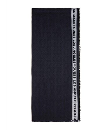 Guess All Over Jacquard Logo Scarf