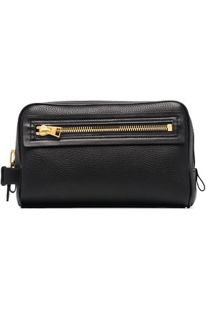 Tom Ford Grained leather wash bag