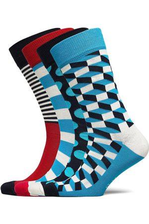 Happy Socks 4 Pk Filled Optic Gift Box Underwear Socks Regular Socks Multi/mønstret