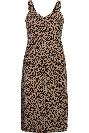 Banana Republic Kvinder Bodycon kjoler - Print Bi-Stretch Sheath Dress Knælang Kjole Multi/mønstret