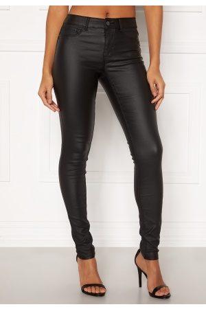 Pieces Kvinder Bukser - Shape-UP Paro Coated Black XL