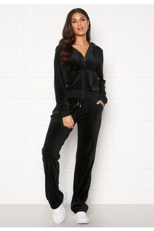 Juicy Couture Del Ray Classic Velour Pant Black L