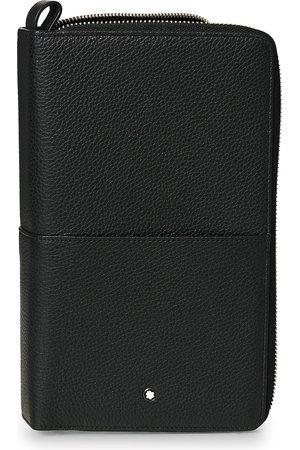 Montblanc Mænd Punge - MST Soft Grain Travel Wallet Black