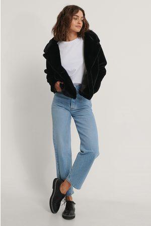 NA-KD Kvinder Pelsjakker - Fluffy Faux Fur Jacket