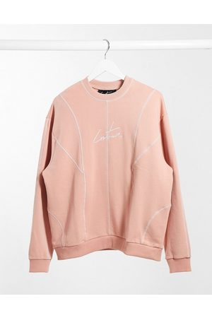 The Couture Club Oversized sweater med paneler i
