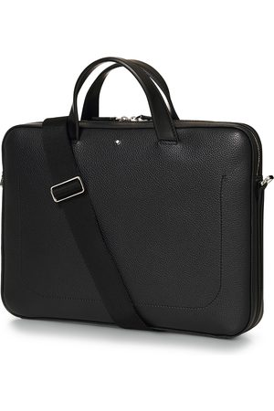 Mont Blanc Mænd Skuldertasker - MST Soft Grain Ultra Slim Document Case Black