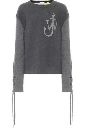 Moncler Genius 1 MONCLER JW ANDERSON cotton and wool sweatshirt