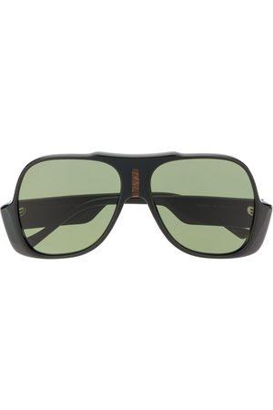 Gucci Solbriller - GG0785S aviator-frame sunglasses