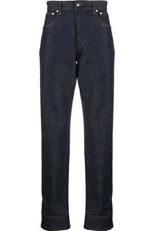 Ami Jeans med lige ben og kontrastkant