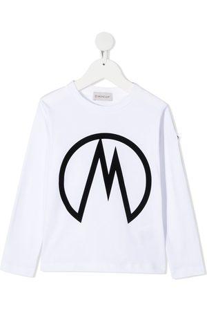 Moncler Logo print longsleeved T-shirt