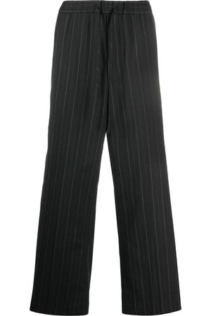 JUUN.J Nålestribede bukser med brede ben