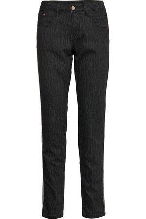 Cream Lottecr Printed Twill Pants - Coco Slim Jeans