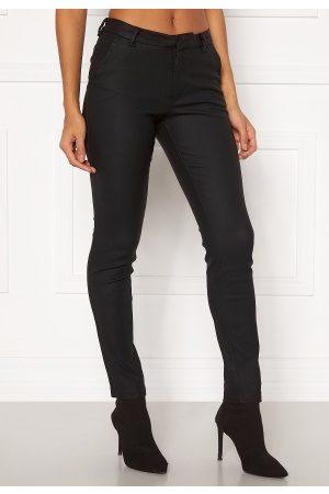 Vero Moda Kvinder Bukser - Leah MR Classic Coated Pant COLOR Black L/32